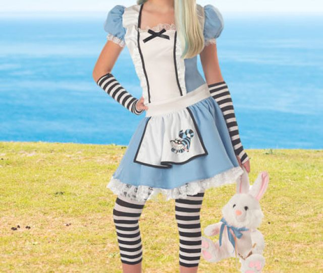 Alice In Wonderland Teen Costume