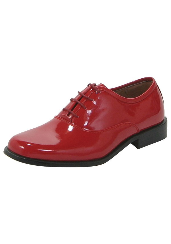 Red Zoot Suit Shoes
