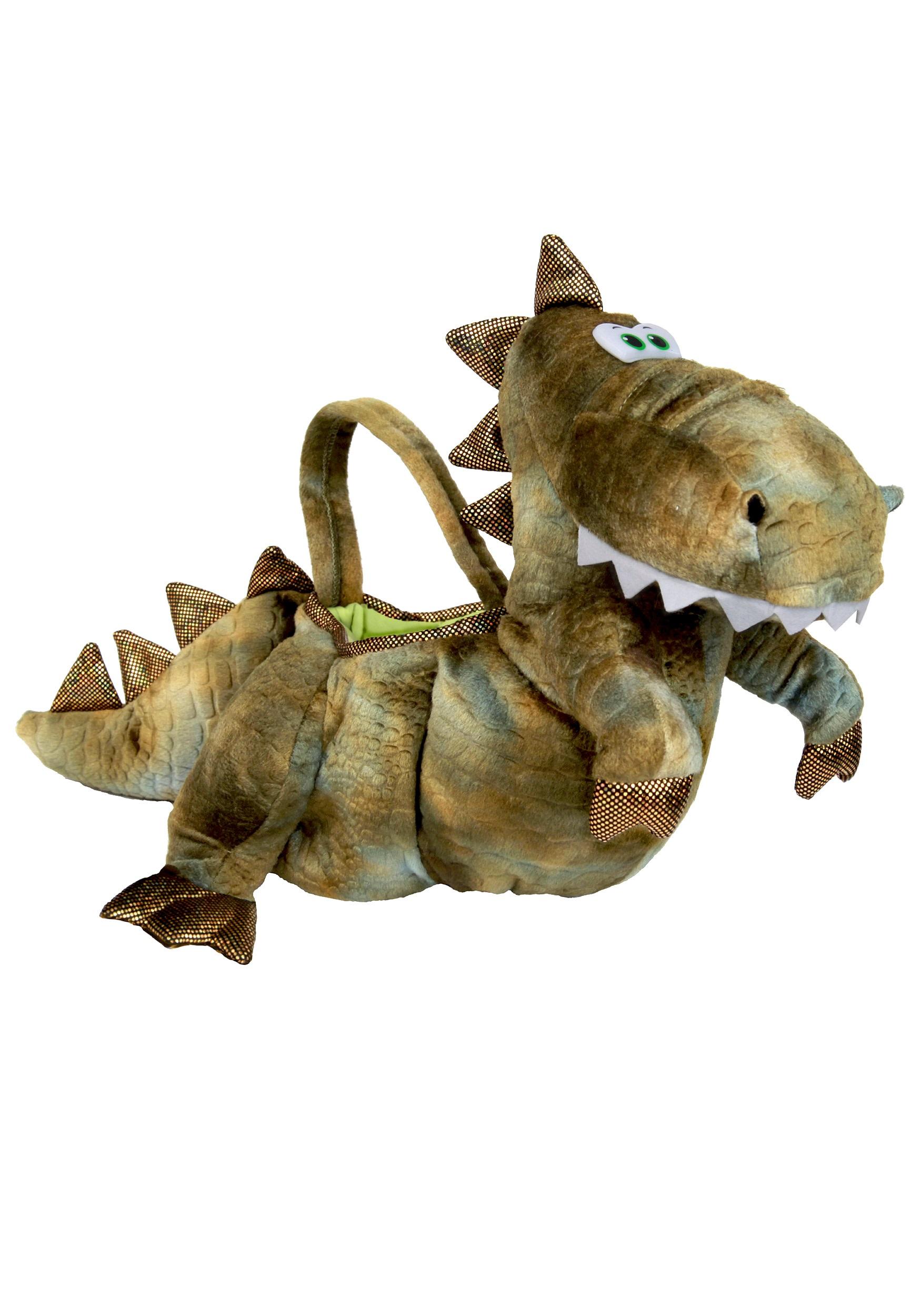 T Rex Dinosaur Trick Or Treat Bag