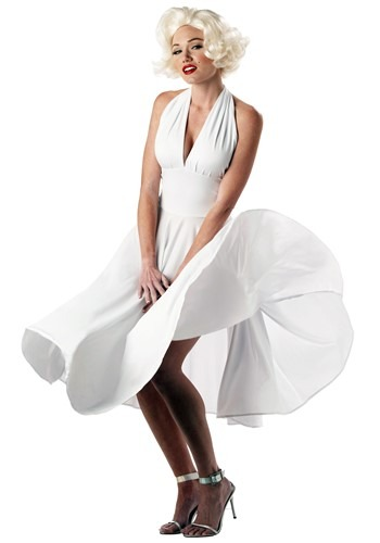 1950s pin-up girl costumes - Marilyn Monroe Costume Dress