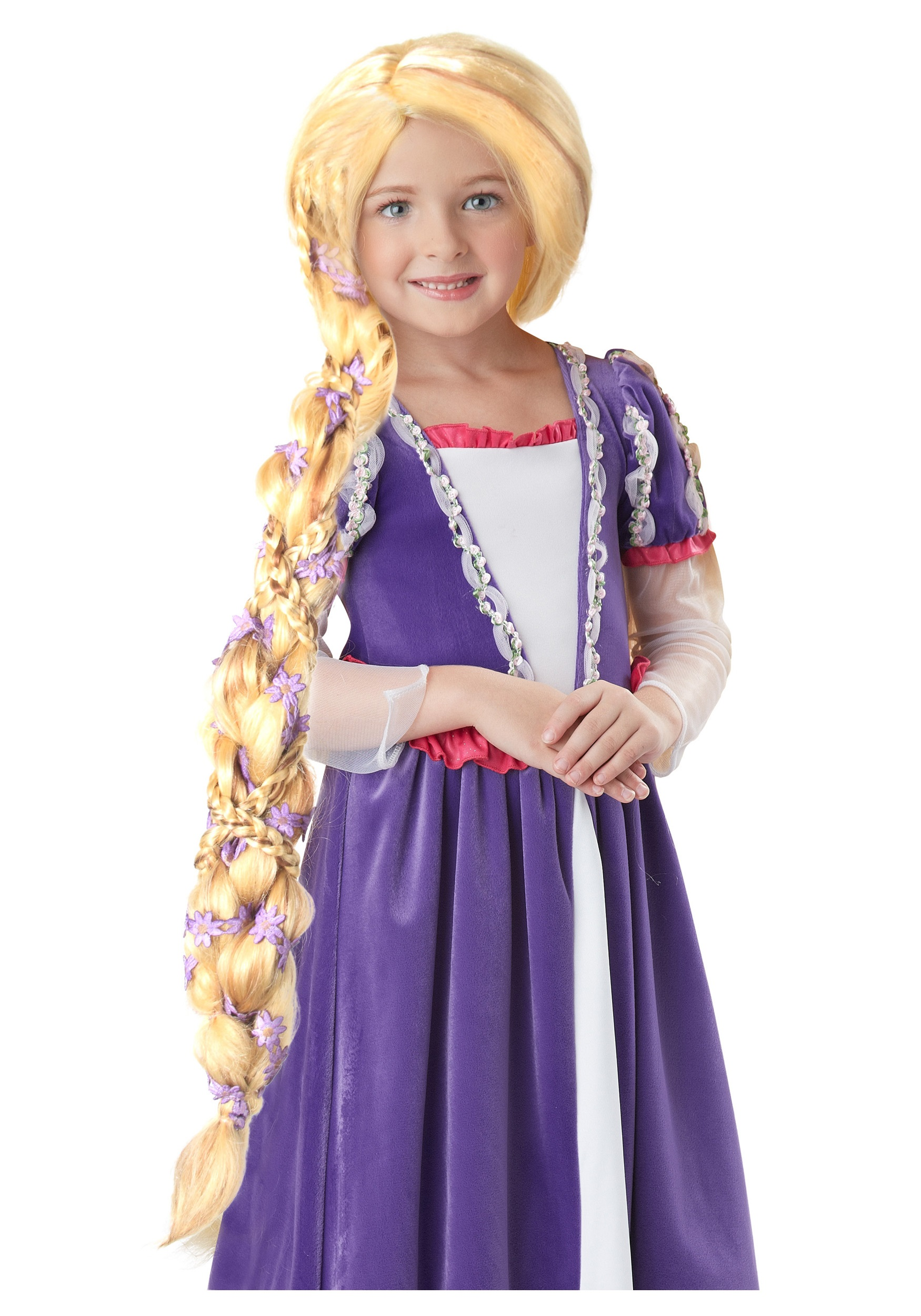 Long Blonde Hair Rapunzel Wig