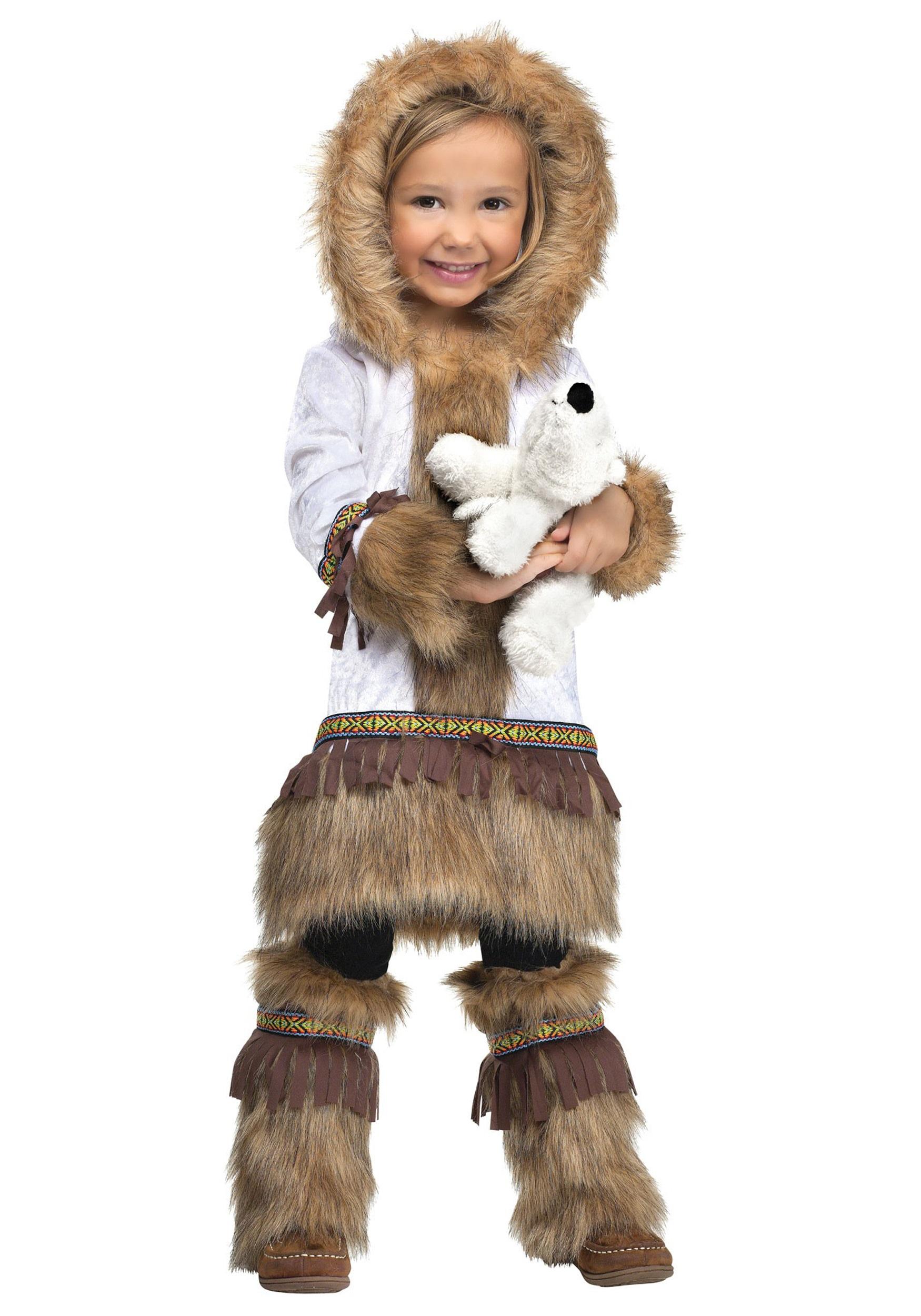 Toddler Inuit Costume For Girls