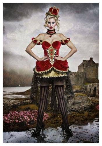 halloween costume queen of hearts