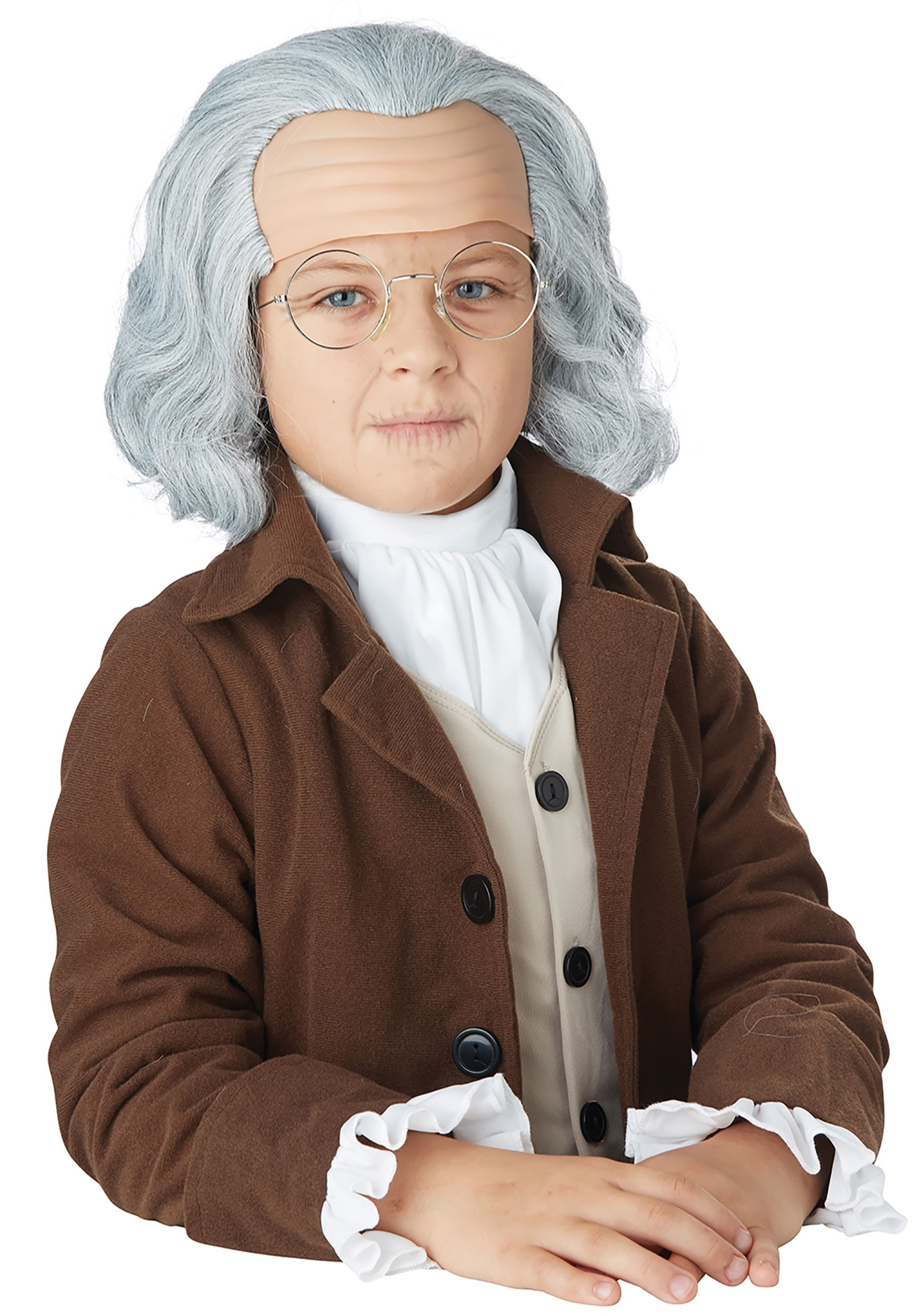 Child Benjamin Franklin Wig