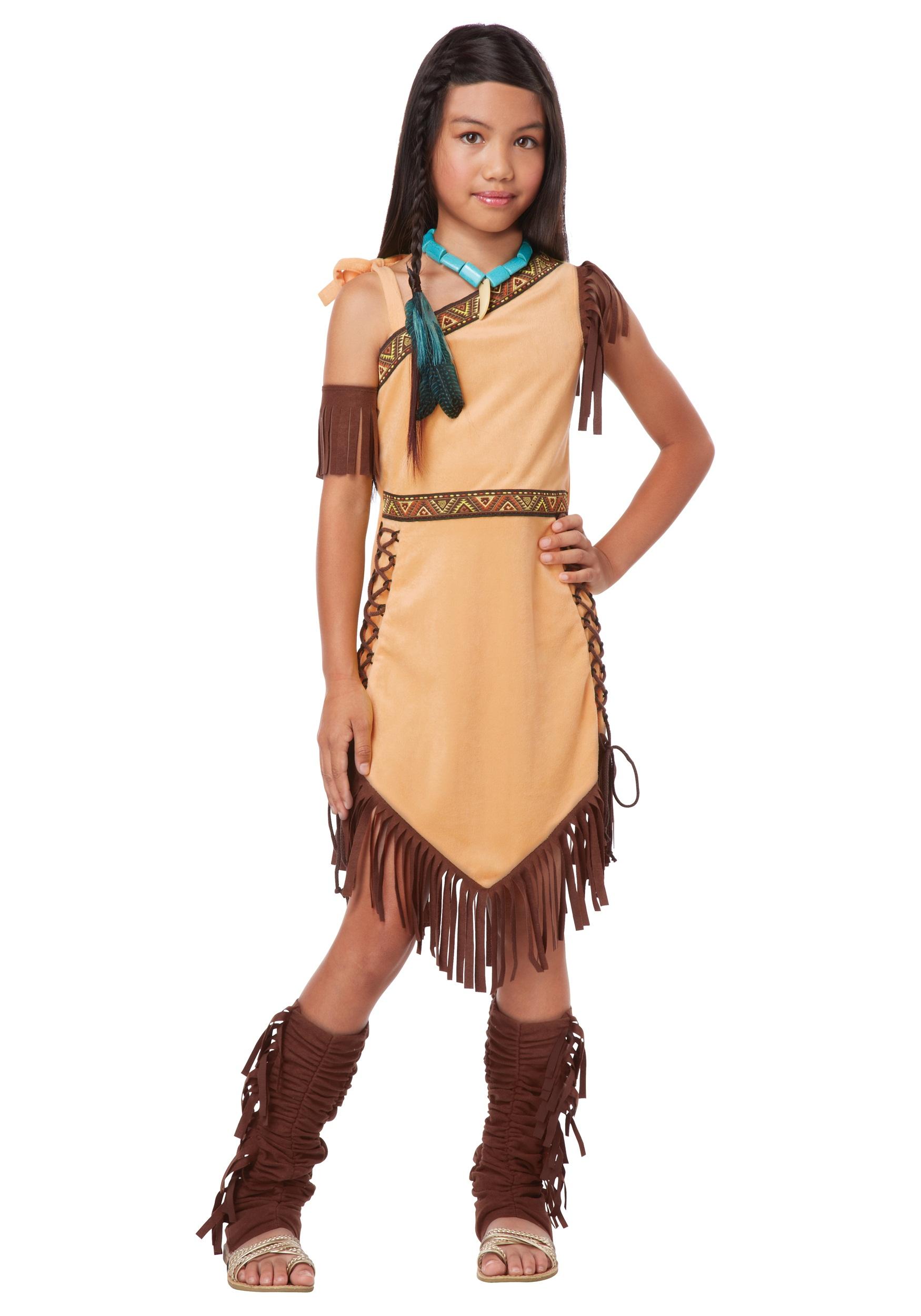 Native American Princess Costume For Girls