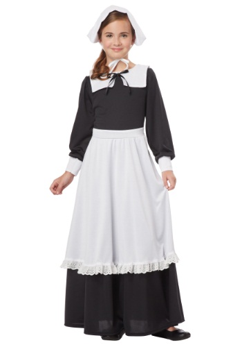 Girls Pilgrim costumes