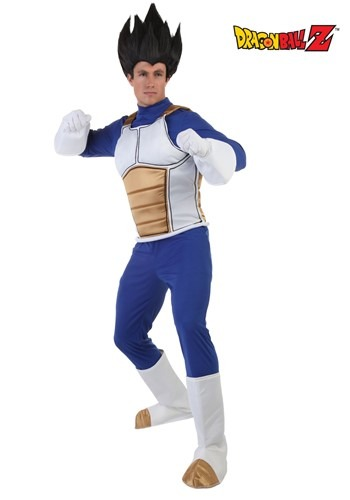 dragon ball z costume vegeta - Adult Vegeta Costume - $49.99