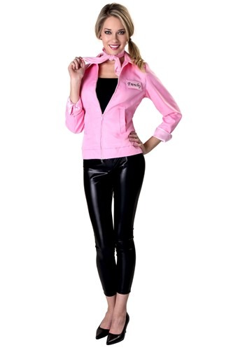 Authentic Grease Pink Ladies Jacket Costume for Women