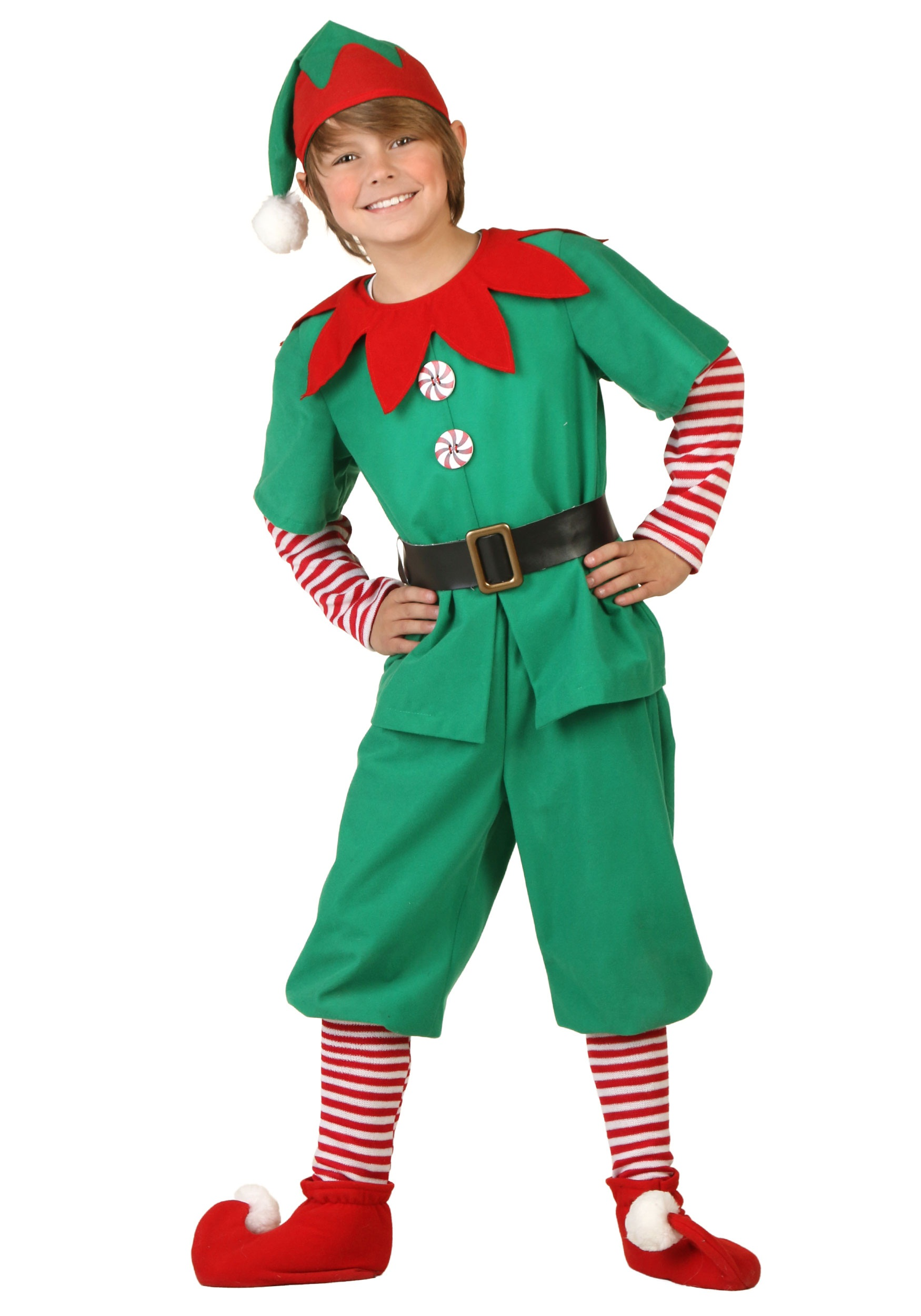 Holiday Elf Costume For Kids