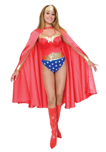 Deluxe Red Superhero Cape