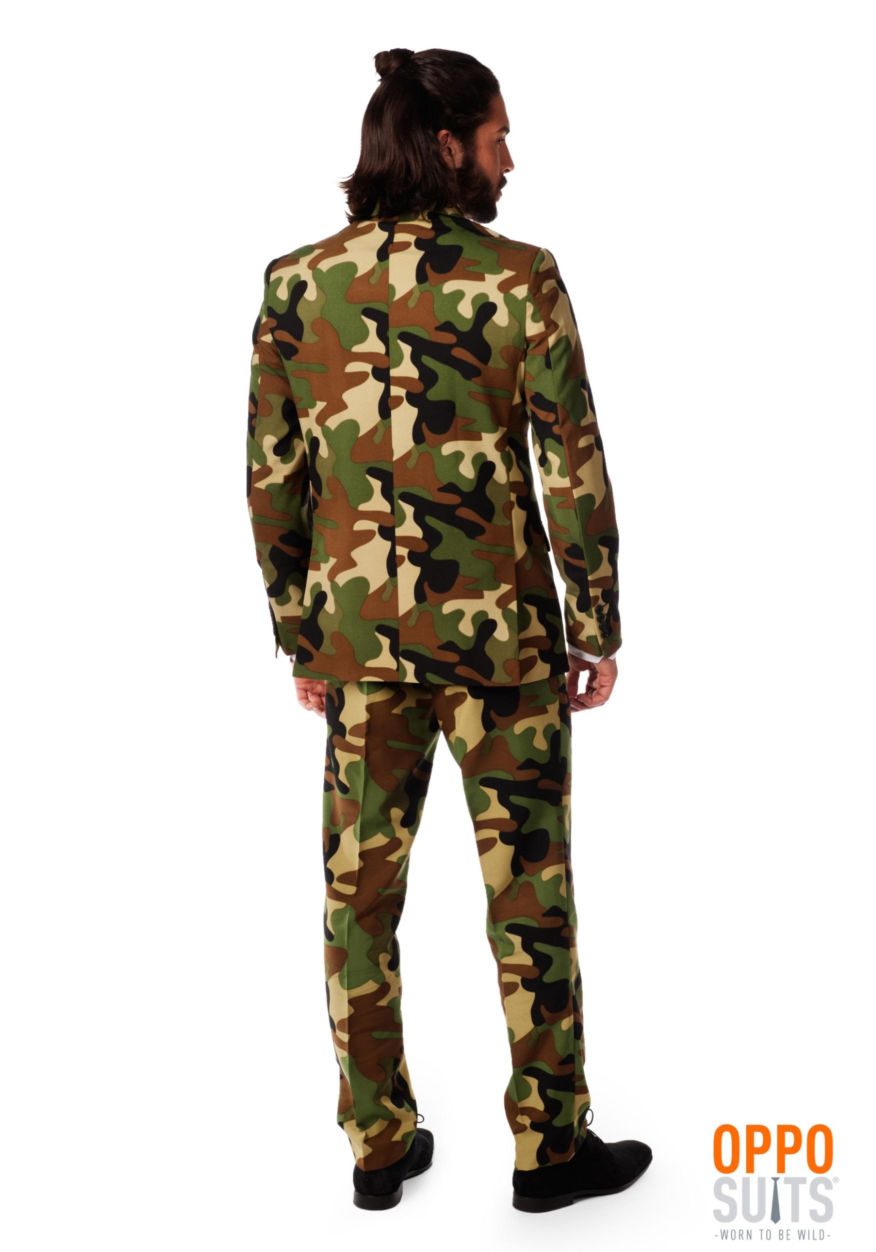 Mens OppoSuits Camo Suit