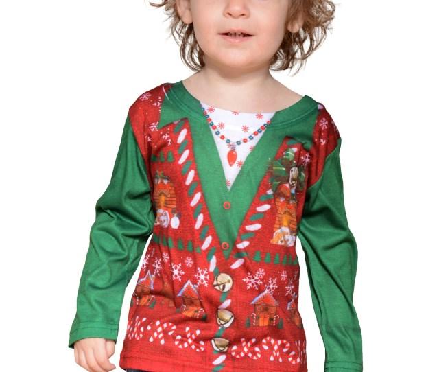 Toddler Ugly Christmas Vest