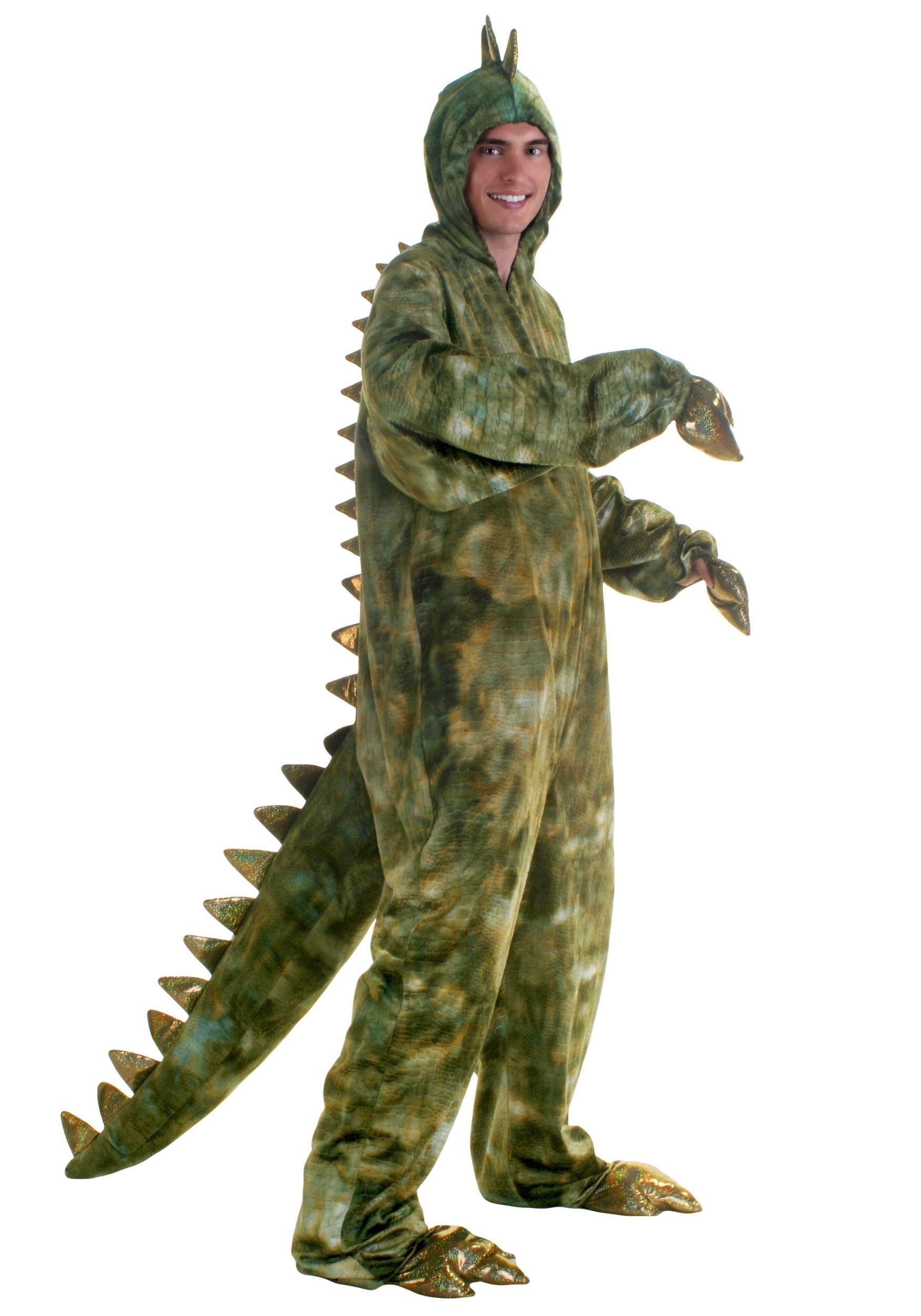 Adult Plus Size T Rex Dinosaur Costume 2x