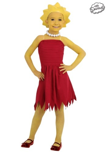Child Lisa Simpson Costume - $34.99
