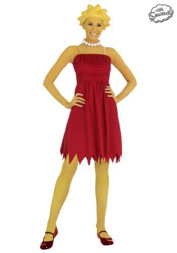 Adult Lisa Simpson Costume - $49.99