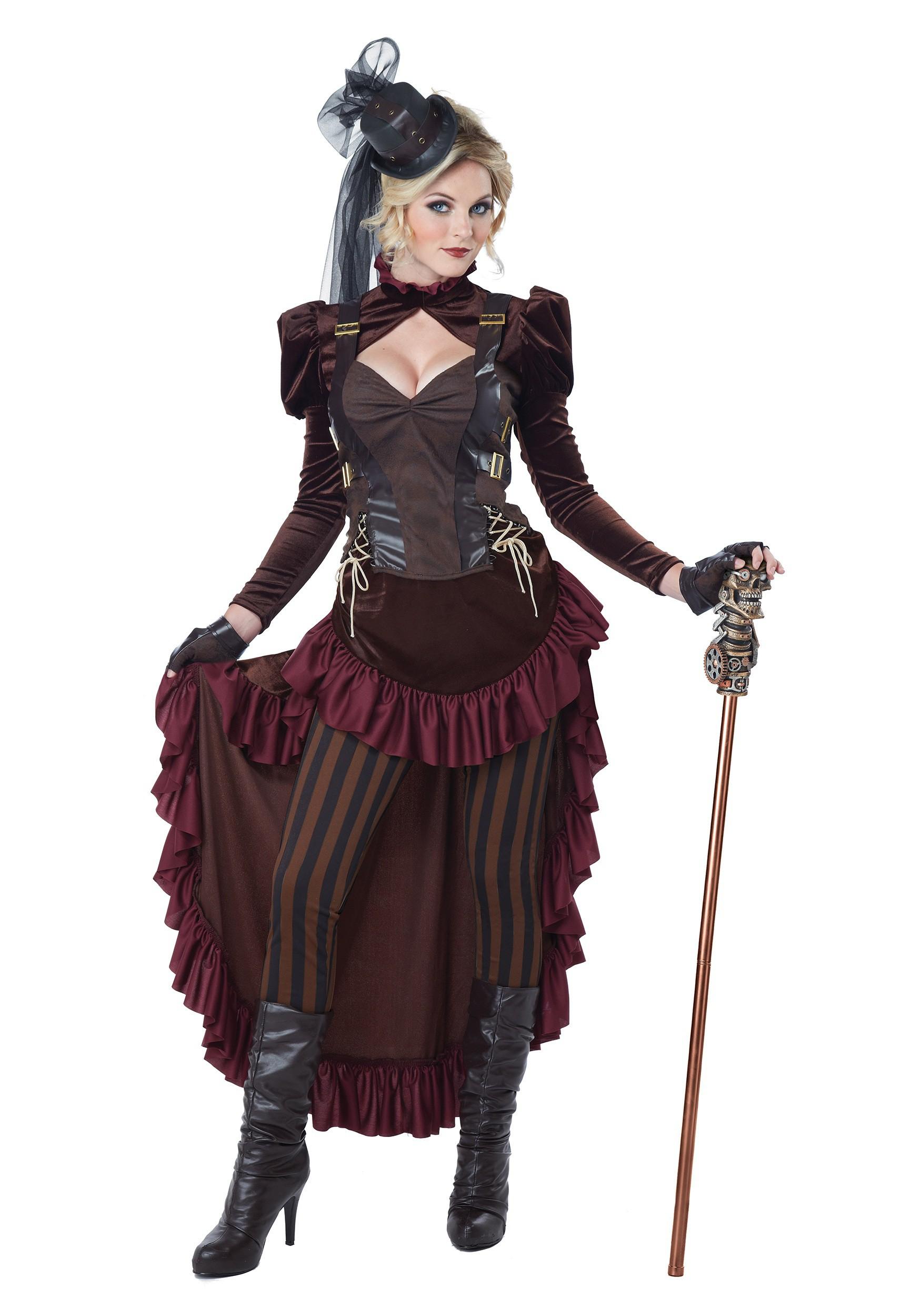 Women S Victorian Steampunk Costume