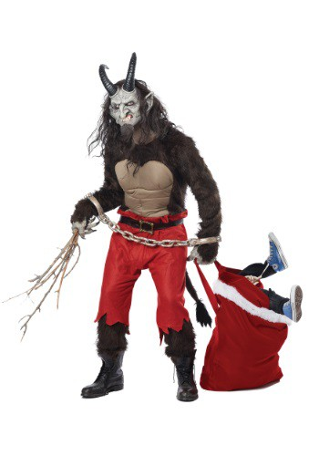krampus costume - christmas demon costume