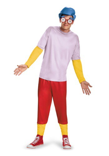 the simpsons milhouse costume