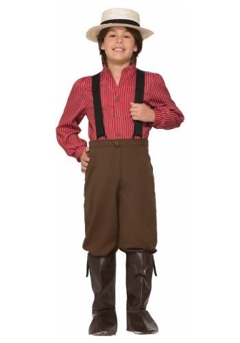 Child Pioneer Boy Costume