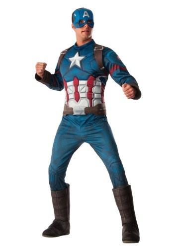 Men's Deluxe Civil War Captain America Costume - $49.99
