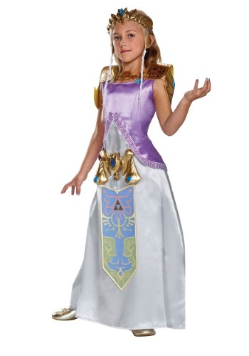legend of zelda costumes - Child Deluxe Zelda Costume