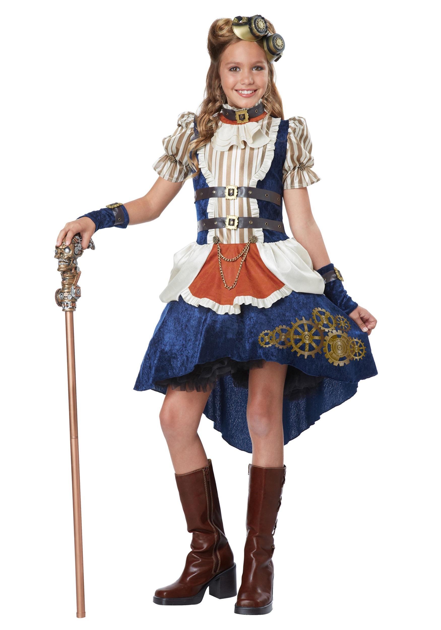 Teen Girls Steampunk Costume