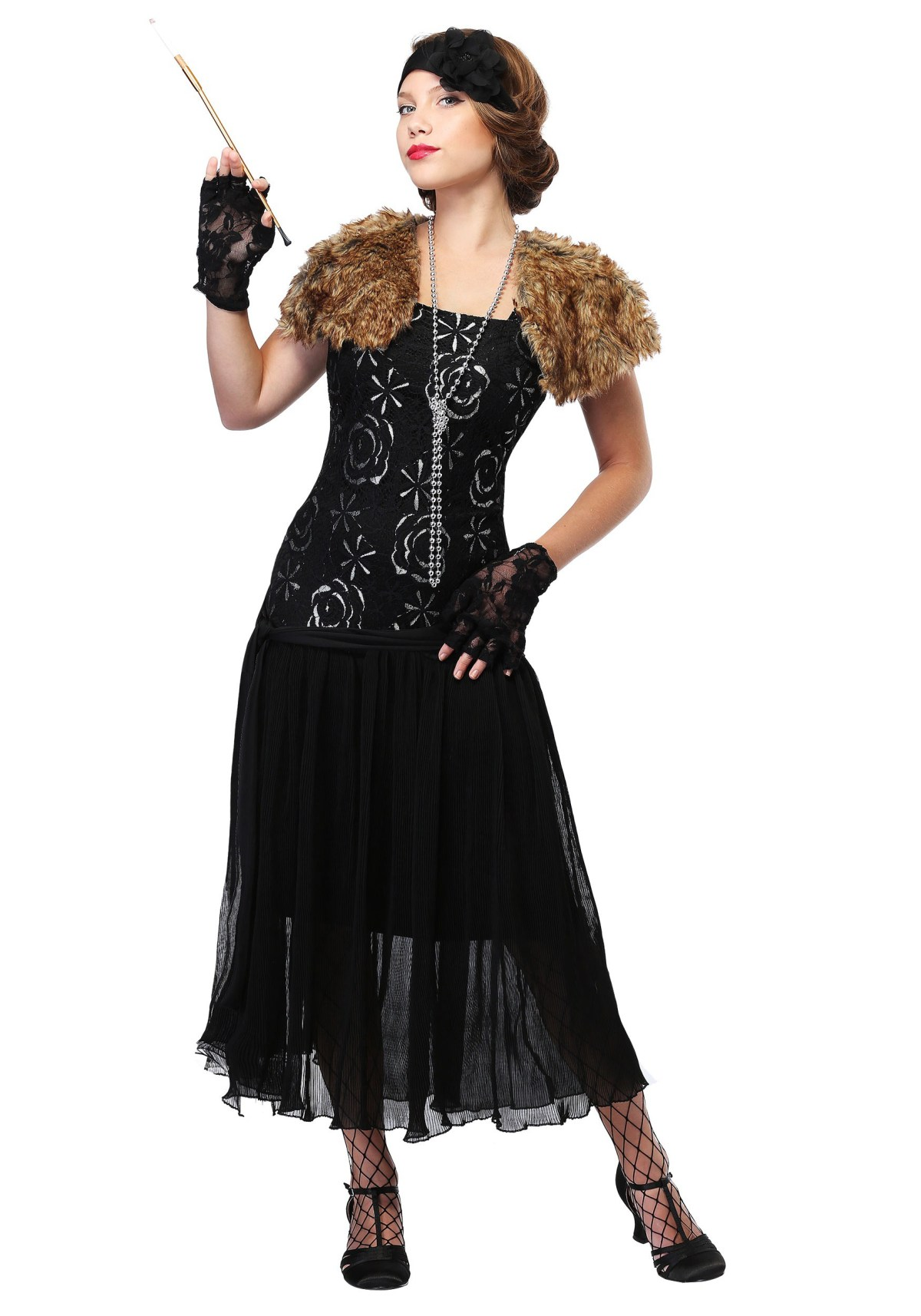 Charleston Flapper Costume for Women