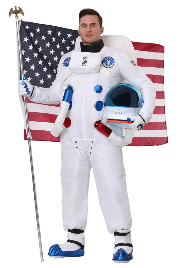 Men's Authentic Astronaut Costume