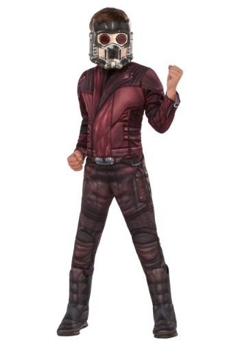 Deluxe Star Lord Kids Costume