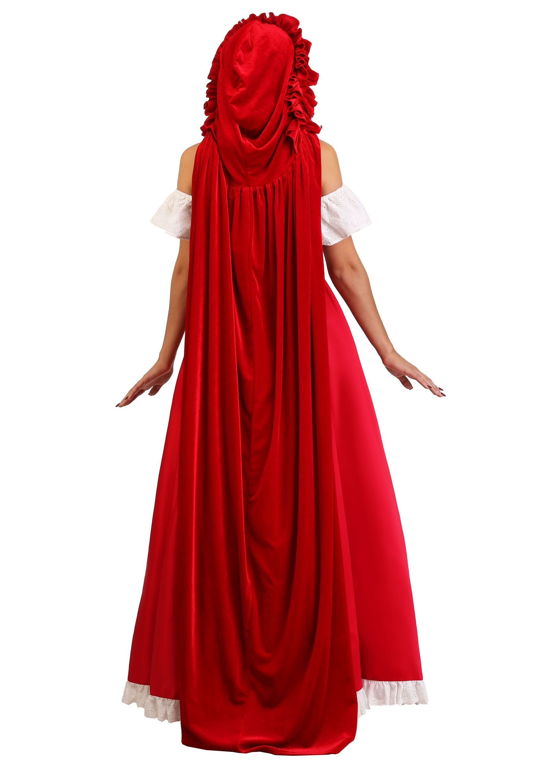 Deluxe Red Riding Hood Women S Costume