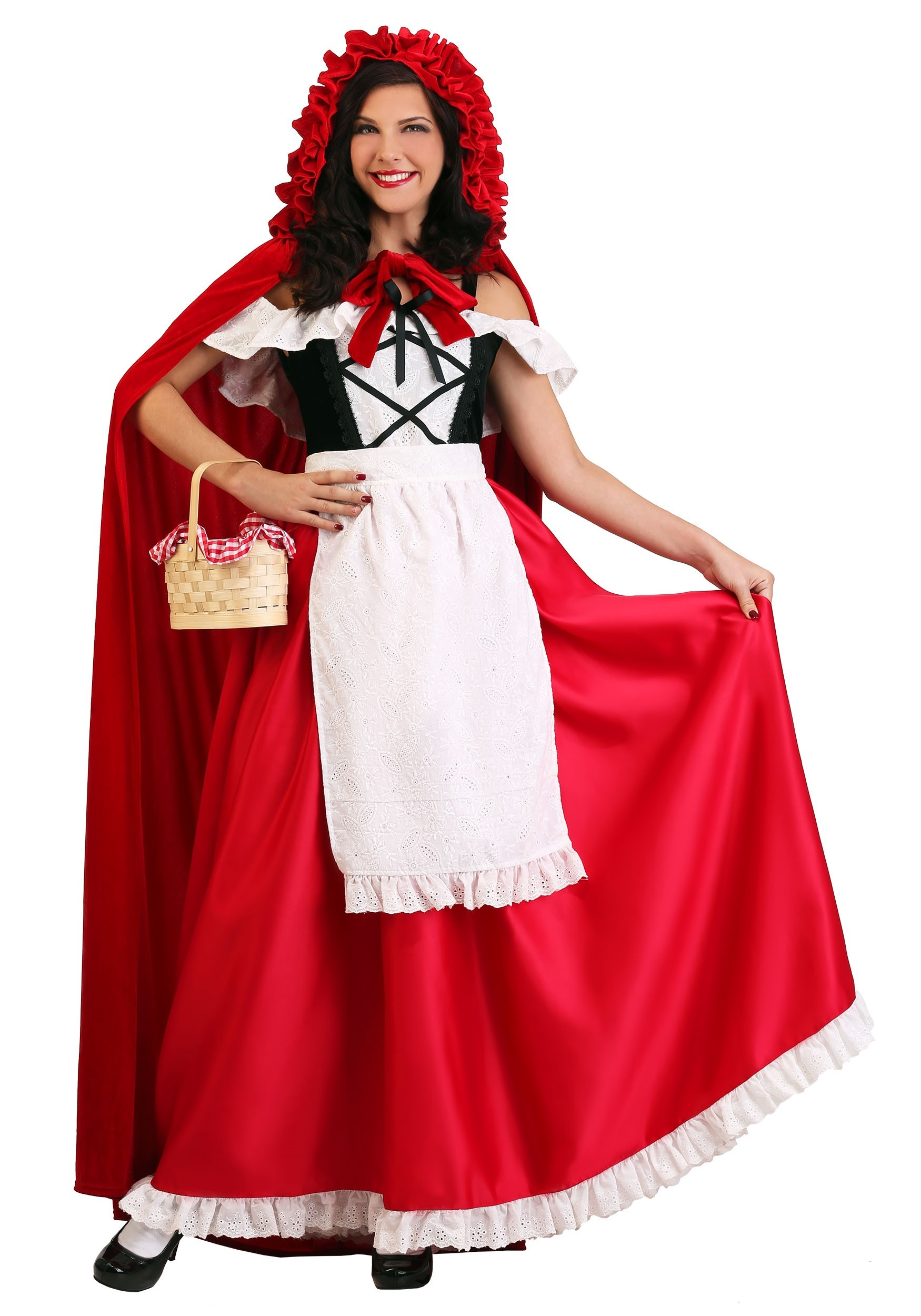 Plus Size Deluxe Red Riding Hood Costume