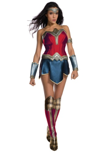 wonder woman movie costumes - Justice League Adult Deluxe Wonder Woman Costume