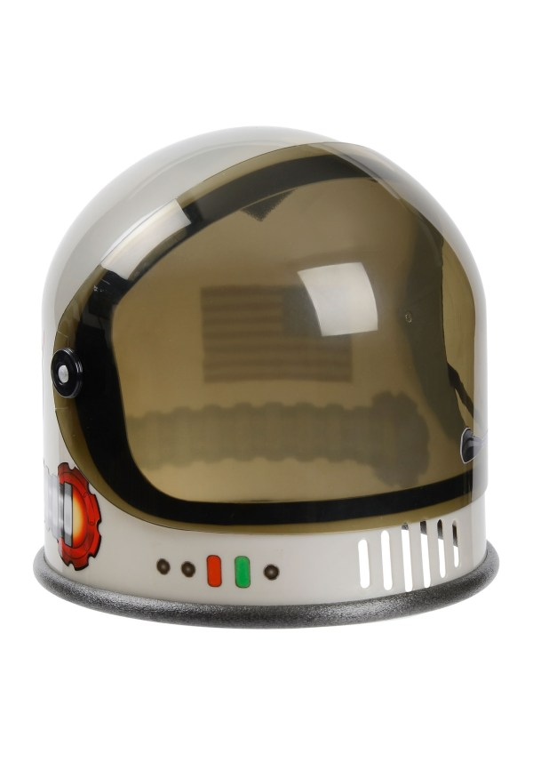 Silver Astronaut Helmet for Kids