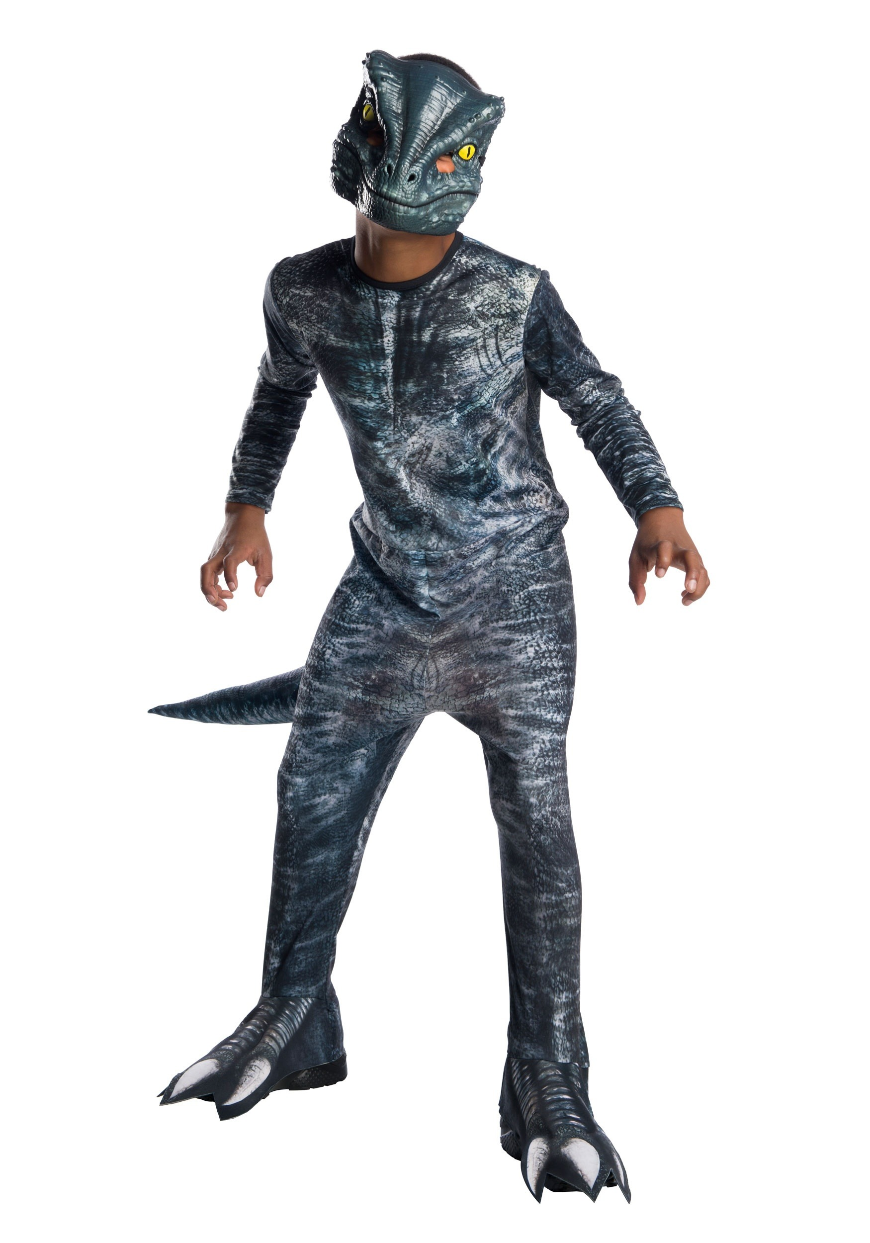 Jurassic World Fallen Kingdom Blue Velociraptor Costume