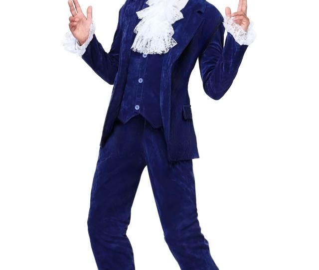 Deluxe Blue 60s Swinger Costume Update Main