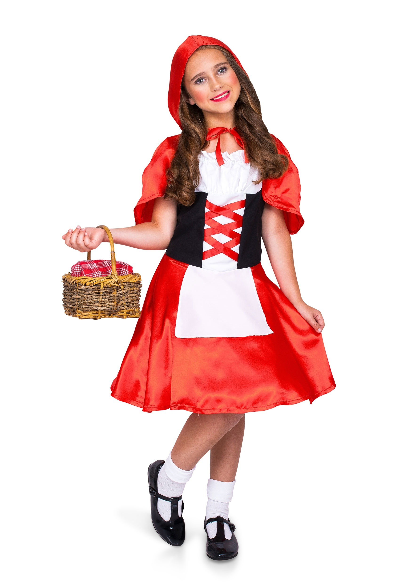 Red Riding Hood Costume For Girl S