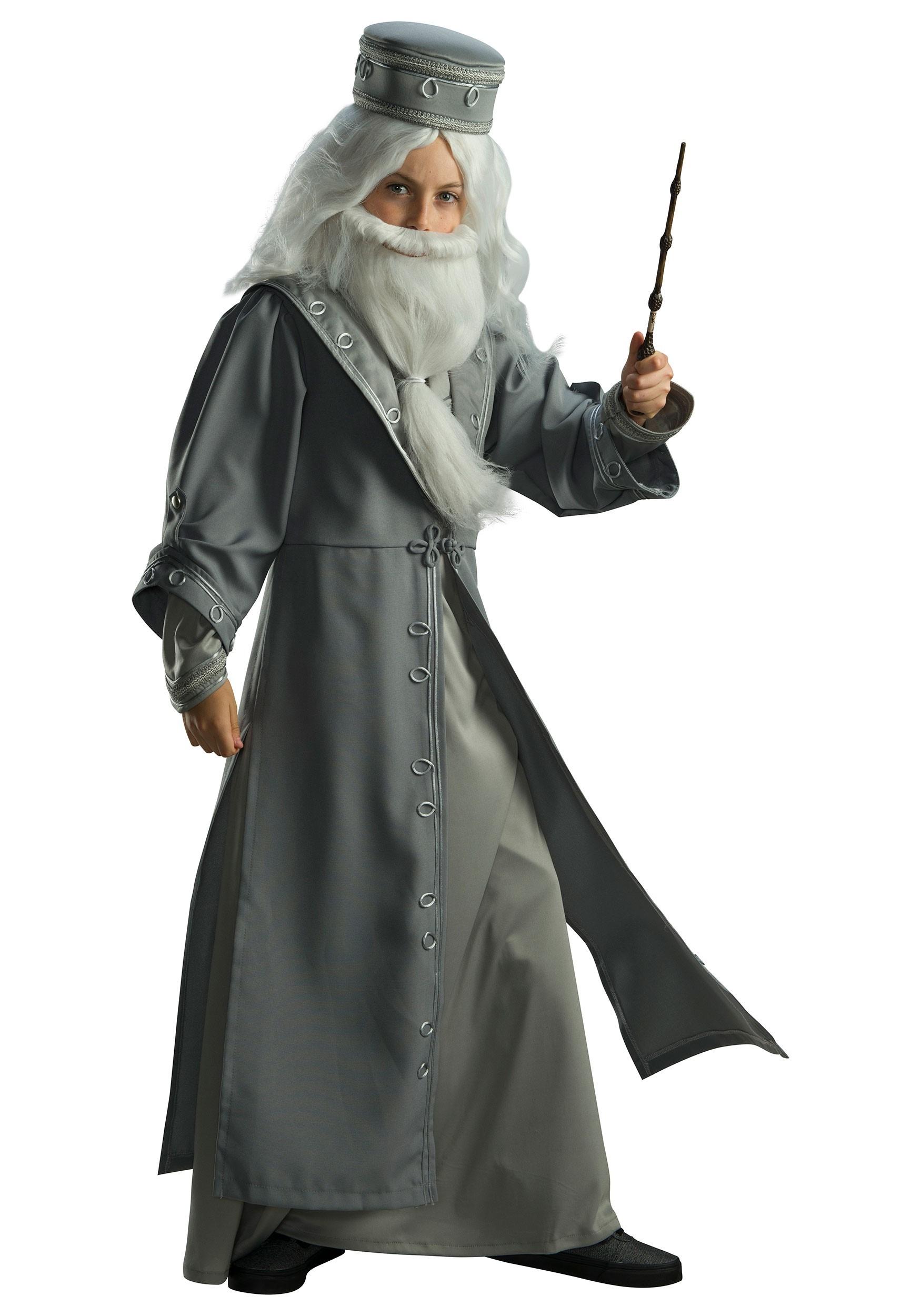 Kids Harry Potter Dumbledore Deluxe Costume
