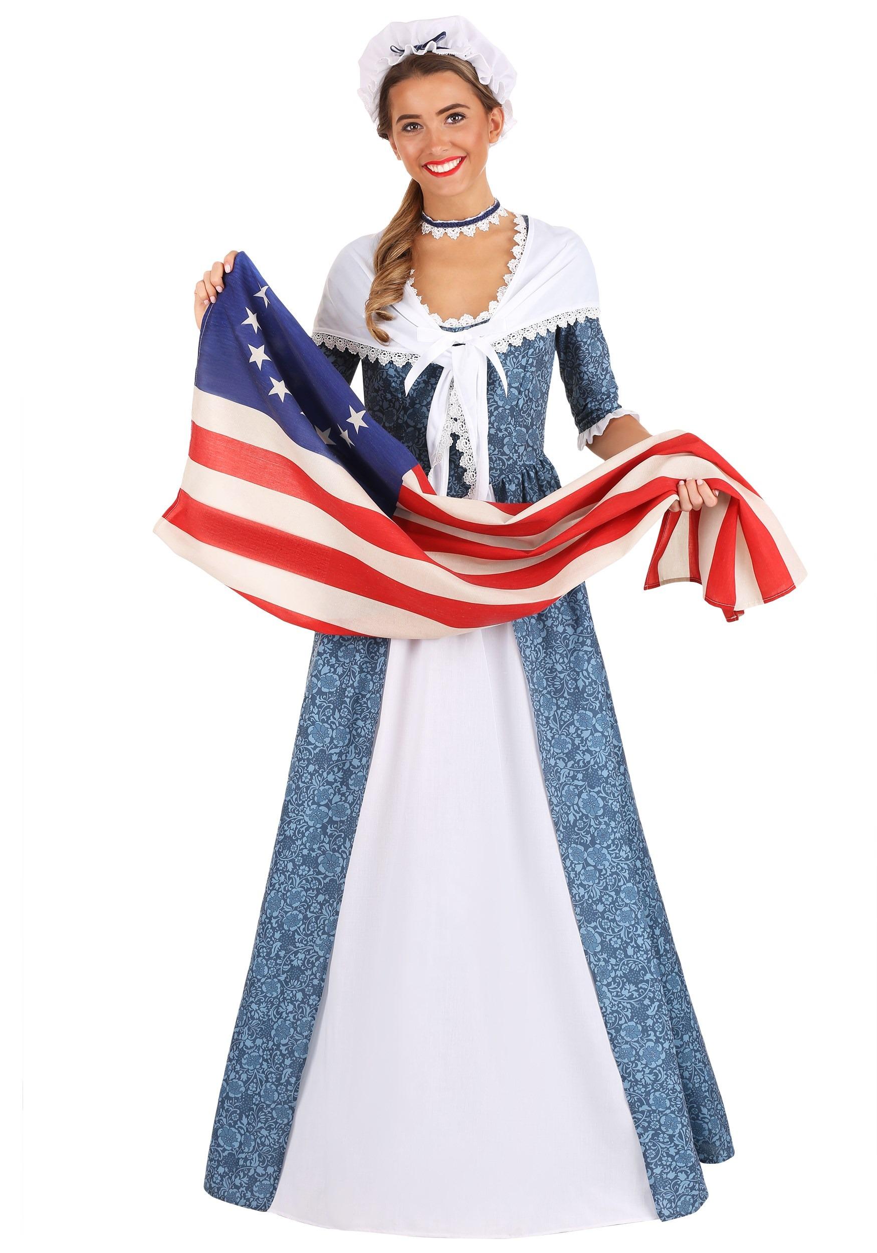 Betsy Ross Women S Costume
