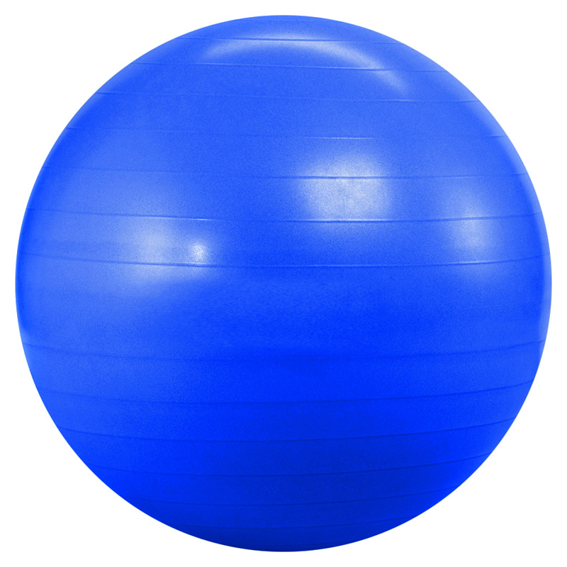 Yoga Direct Blue Fitness Ball At Hayneedle