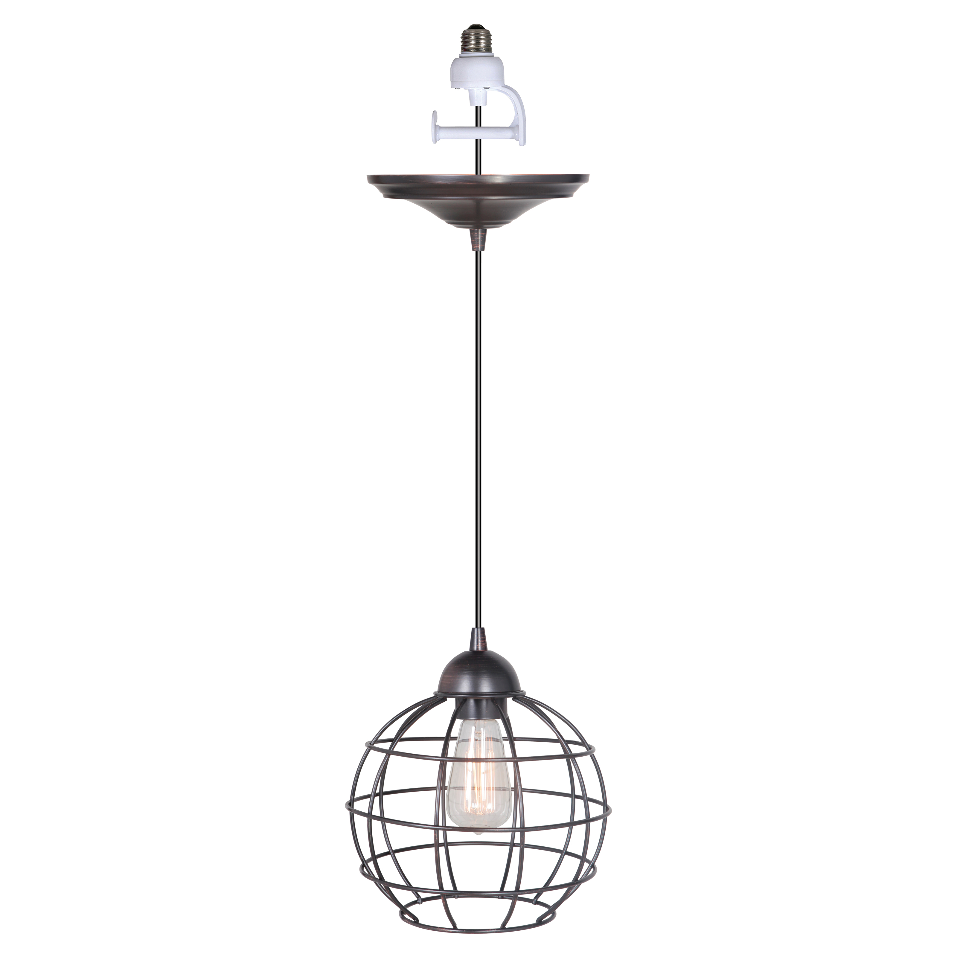 Worth Home Products Pkn 90 Instant Screw In Pendant Light