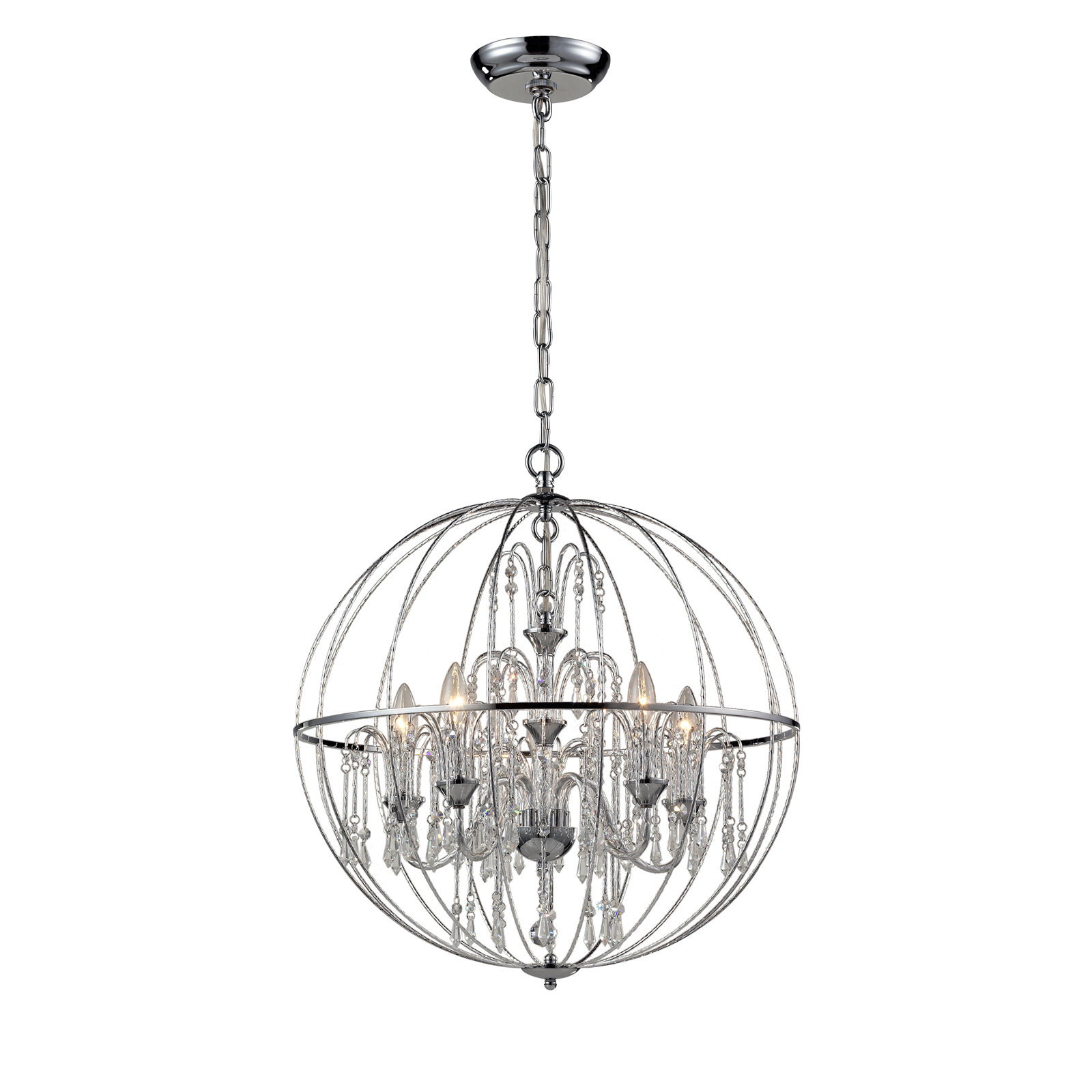 Z Lite Laia 897ch Crystal Pendant Light