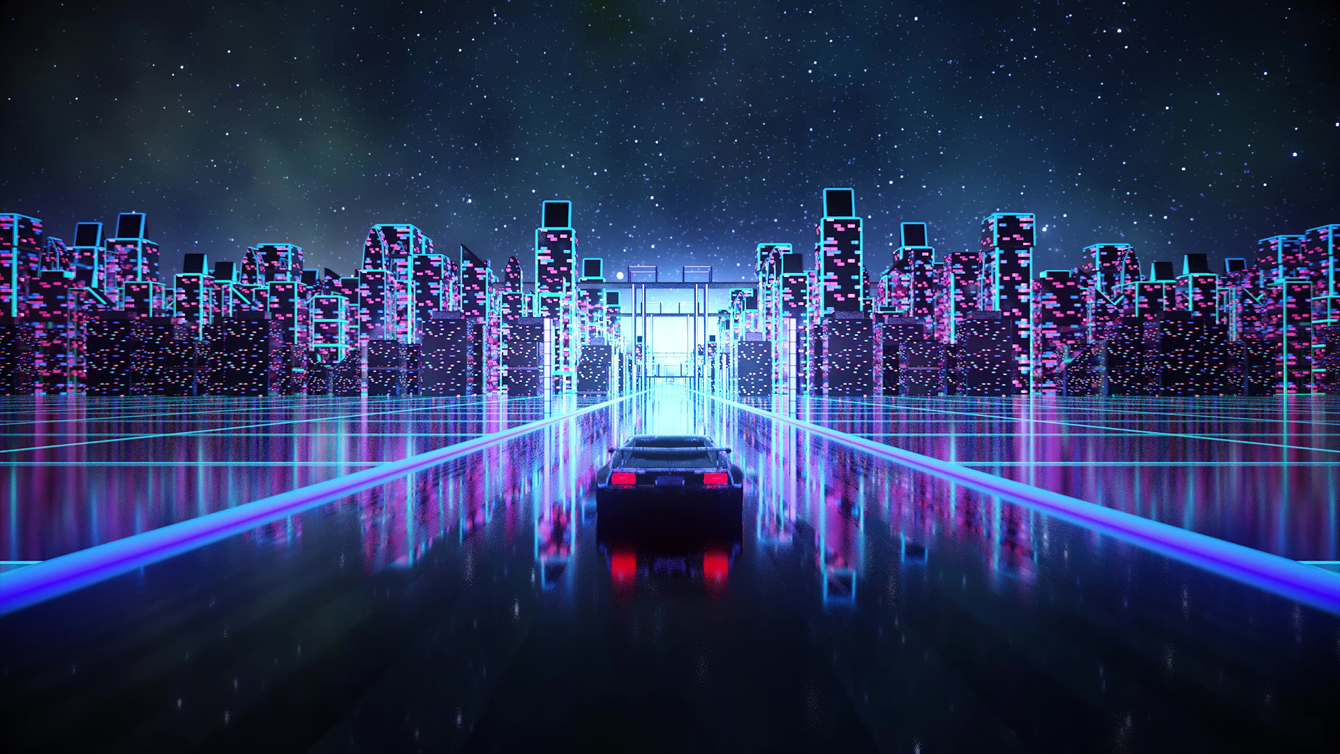 It's fun—and very harry potteresque—to have a bit of motion on your lock screen. 1920x1080 Cyber Outrun Vaporwave Synth Retro Car 4k Laptop ...