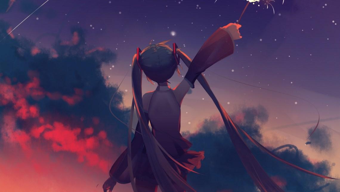 Aesthetic Anime Girl Wallpaper Desktop Otaku Wallpaper