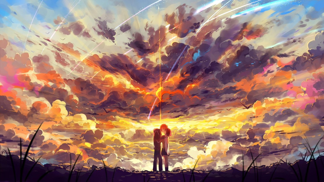 1920x1080 Kimi No Nawa Anime Couple 5k Laptop Full Hd 1080p Hd 4k Wallpapers Images Backgrounds Photos And Pictures