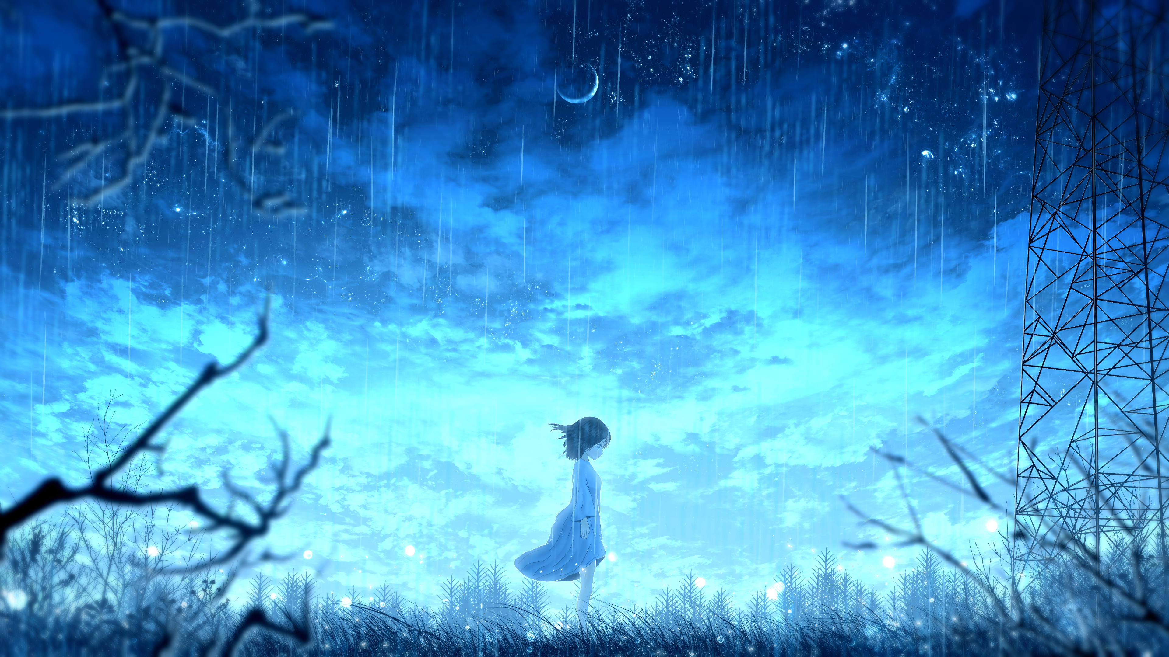 Japanese animation (known as anime in the west) has gone from a niche, geeky interest to a mainstream juggernaut enjoyed by people all over the world. 1440x2560 Anime Girl Night Rain 4k Samsung Galaxy S6,S7 ...