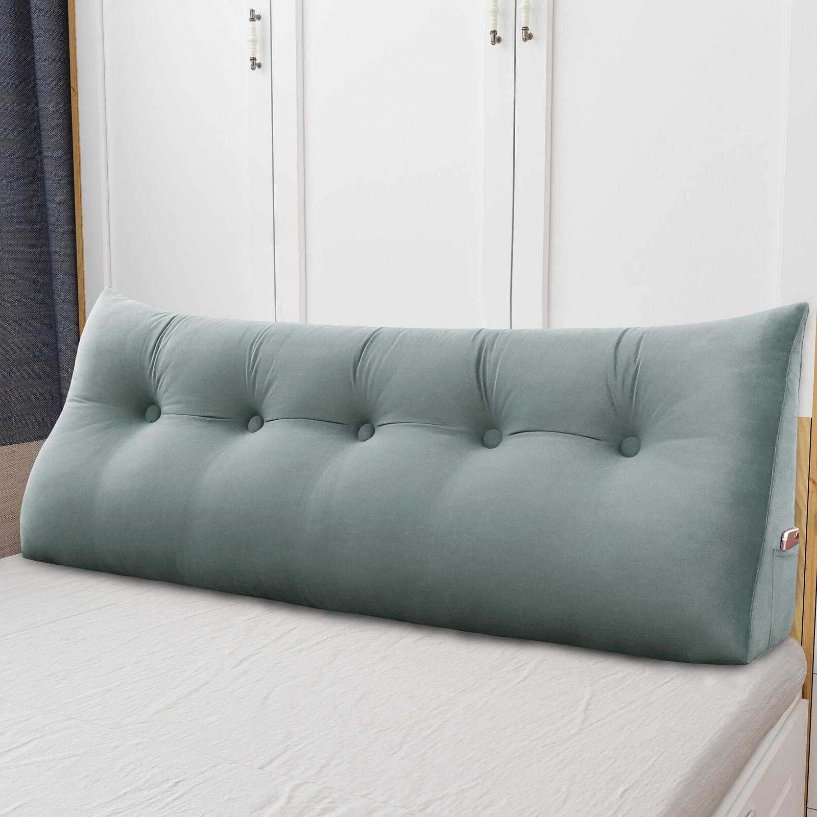 daybed bolster pillow headboard