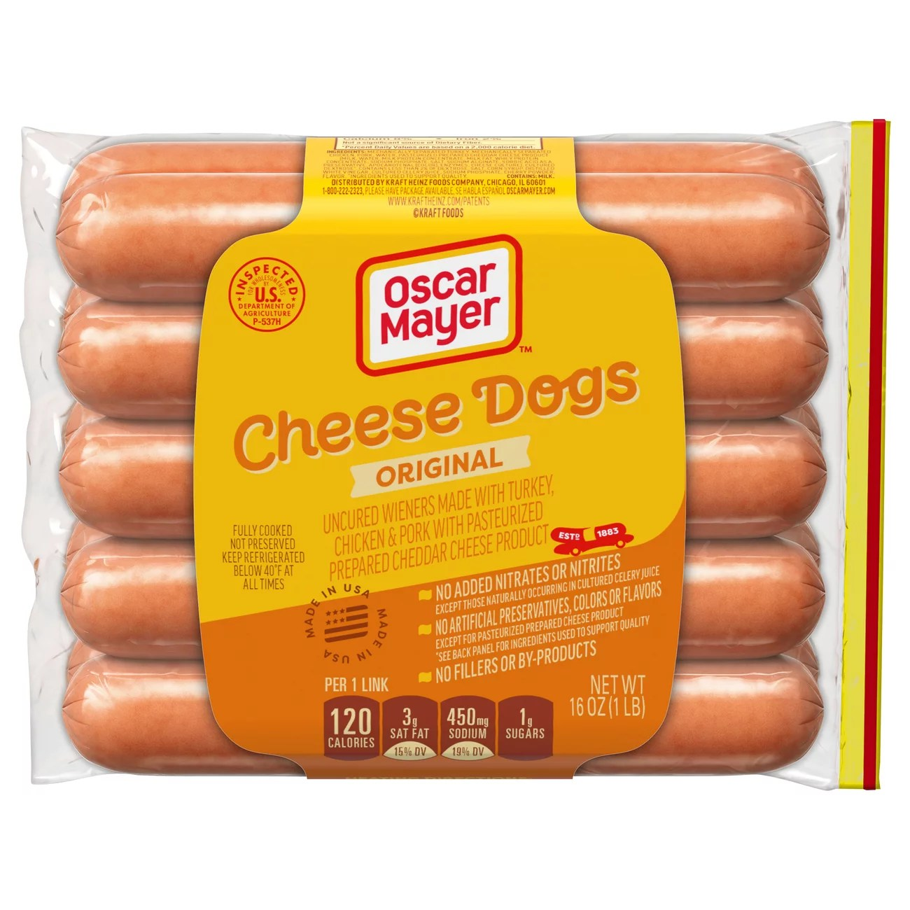 oscar mayer classic cheese dogs