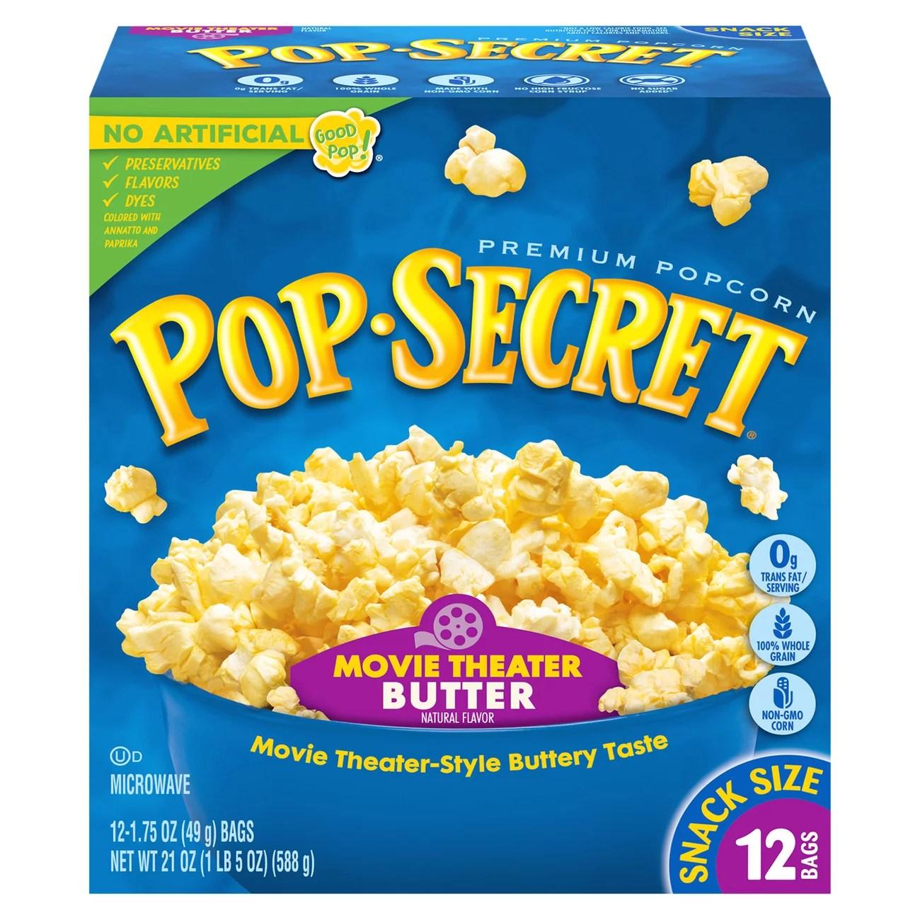 pop secret movie theater butter
