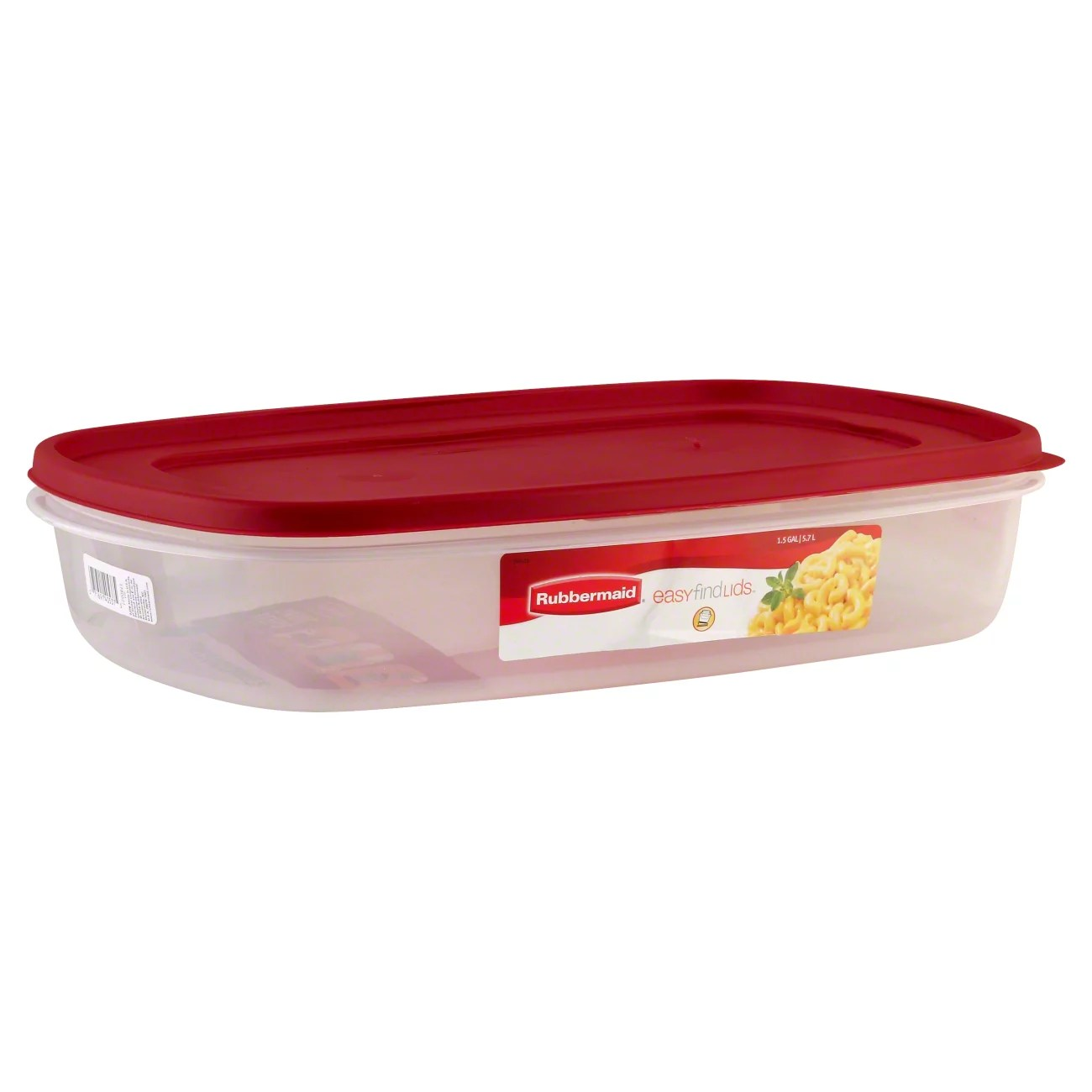 rubbermaid container with easy find