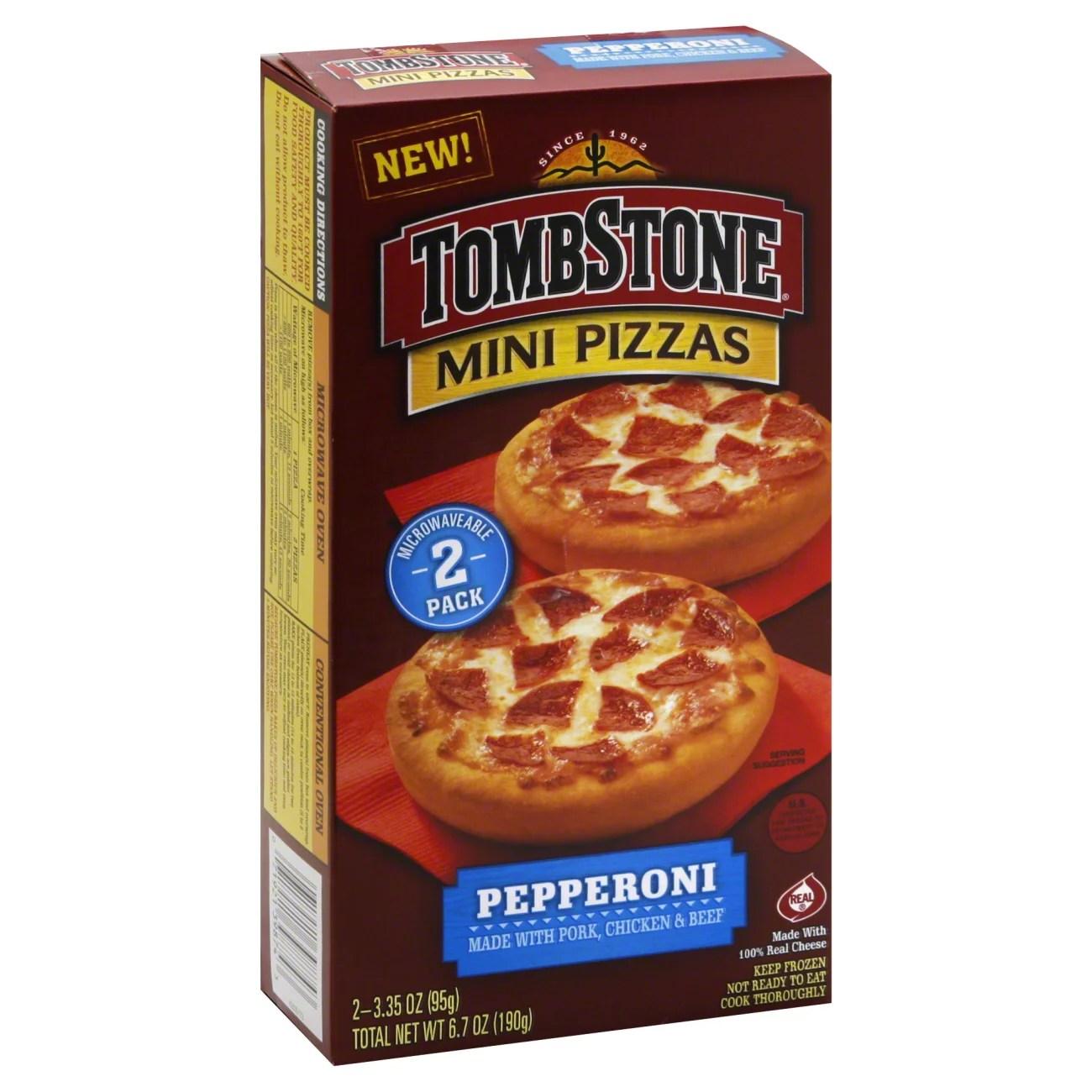 tombstone mini pizzas pepperoni shop